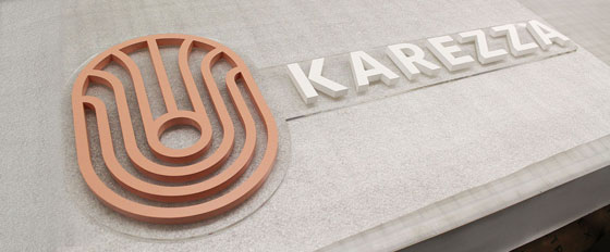 Karezza imposing branded structure
