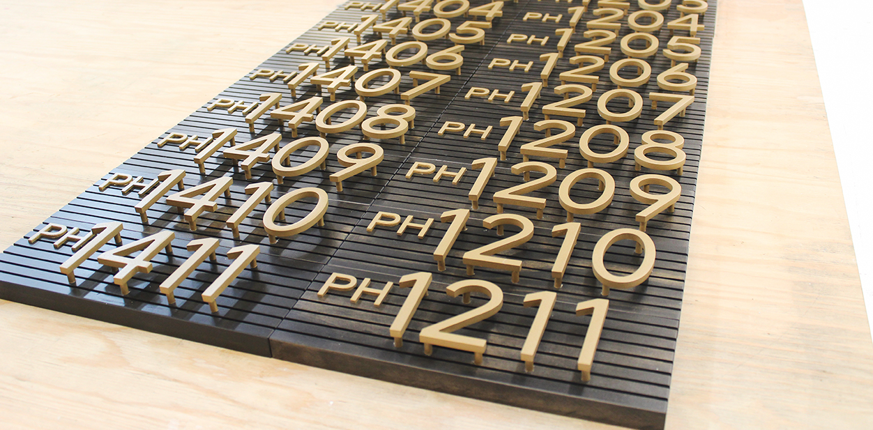 Cool laser cut project made of wood with numbers