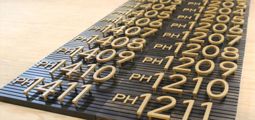 cool laser cut project with numbers