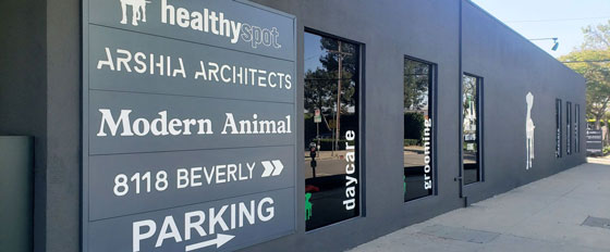 Modern Animal mixed material branded board