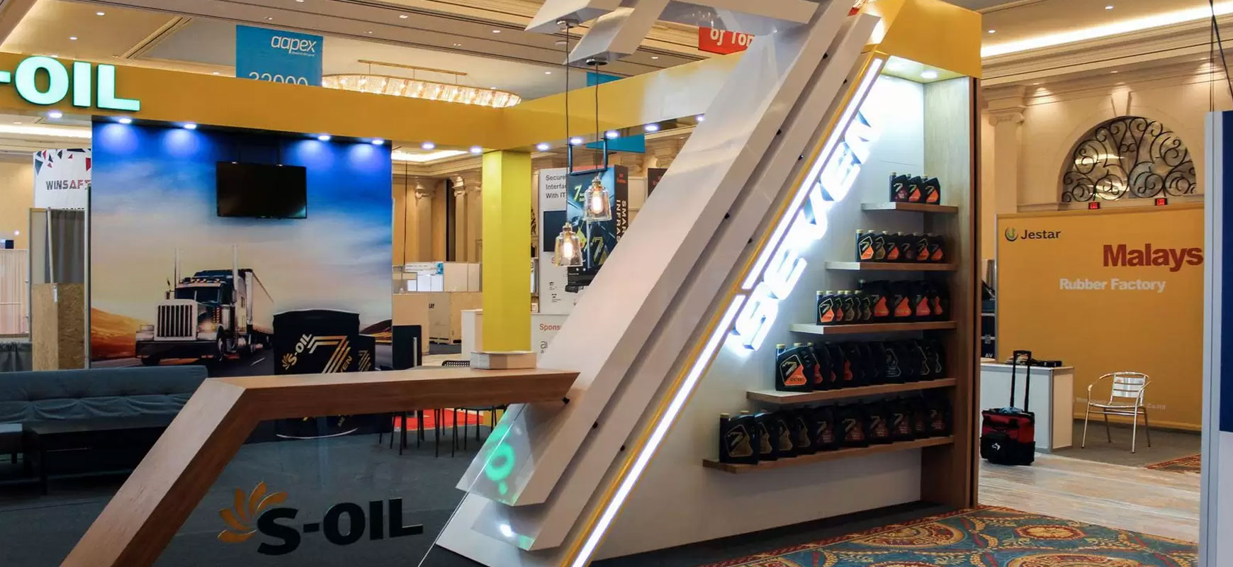 Complete trade show booth solutions