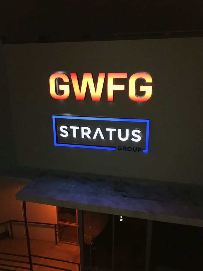 GWFG Stratus group sign