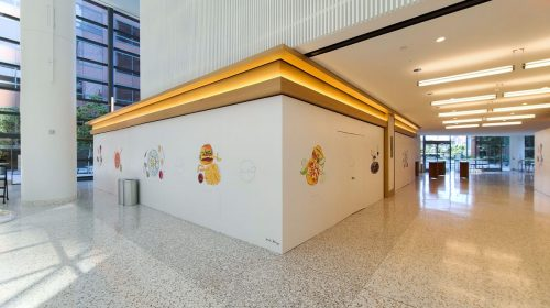 Halo restaurant wall decals