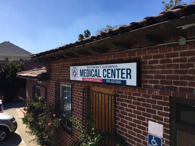 Medical center led sign