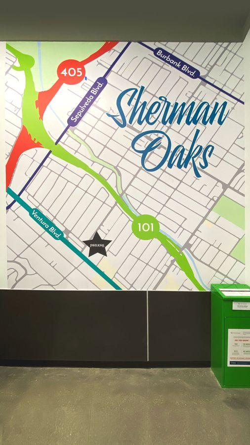 Sherman Oaks wall decal