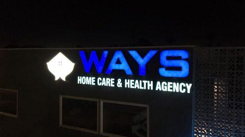 Ways illuminated signs