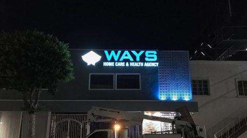 Ways lighted signs