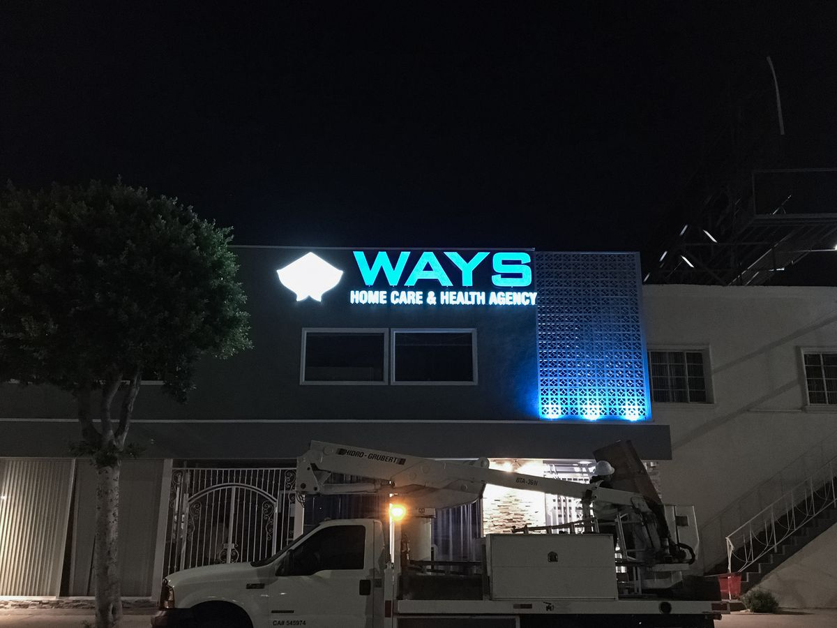 Ways lighted signs