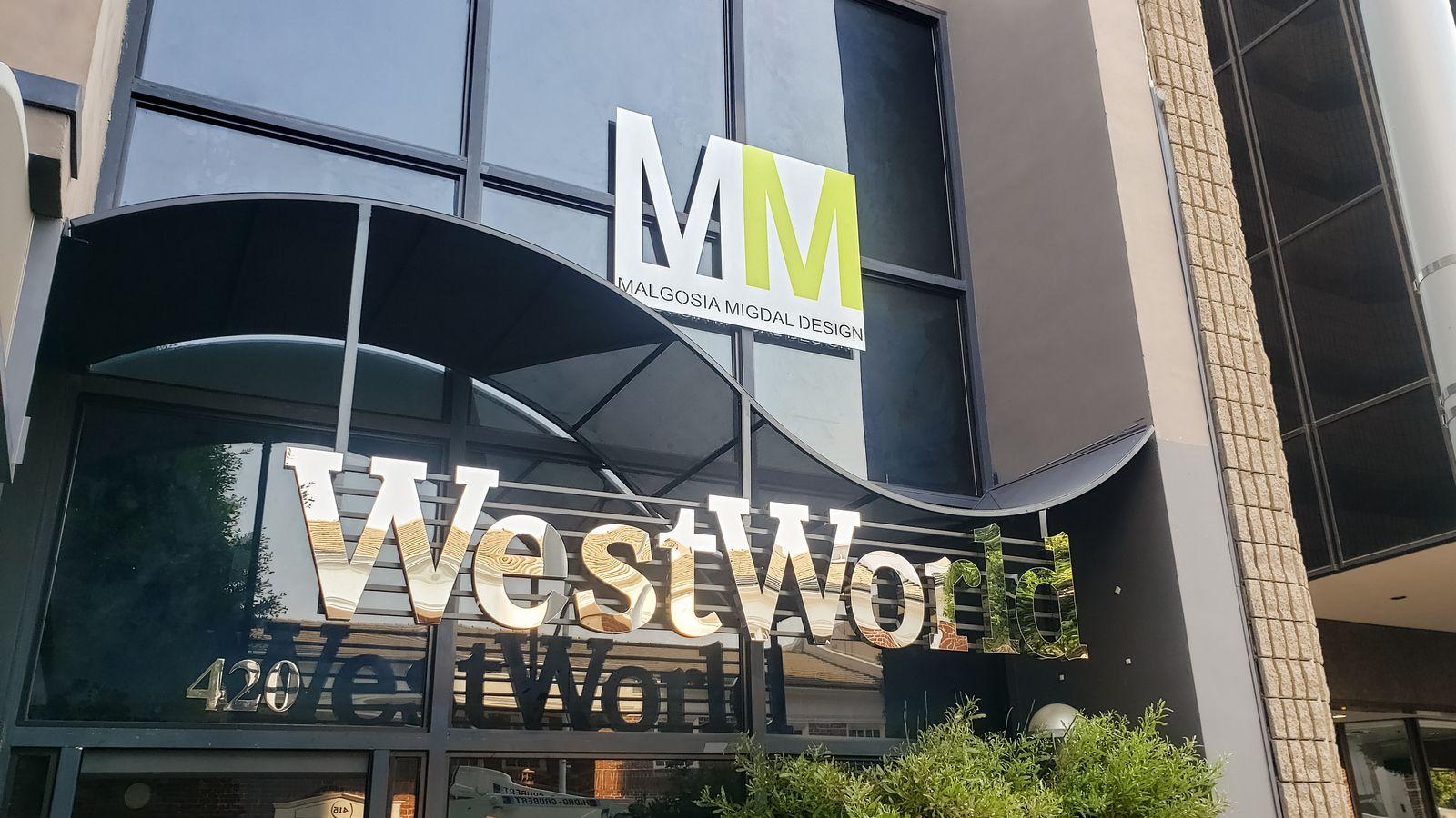 WestWorld 3D letters