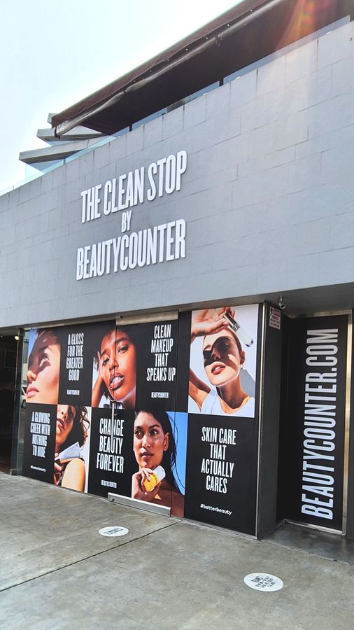 beautycounter storefront signs