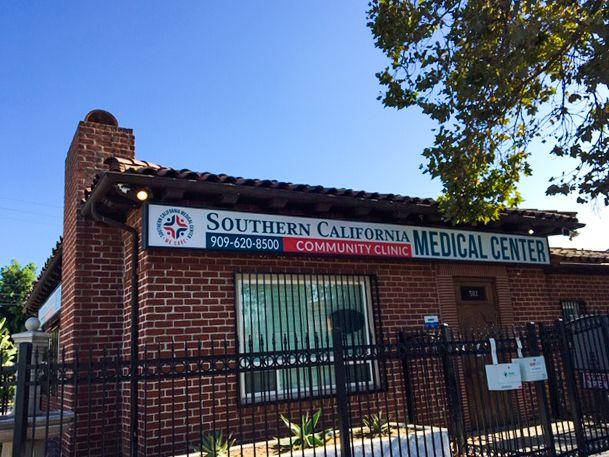 community clinic led sign
