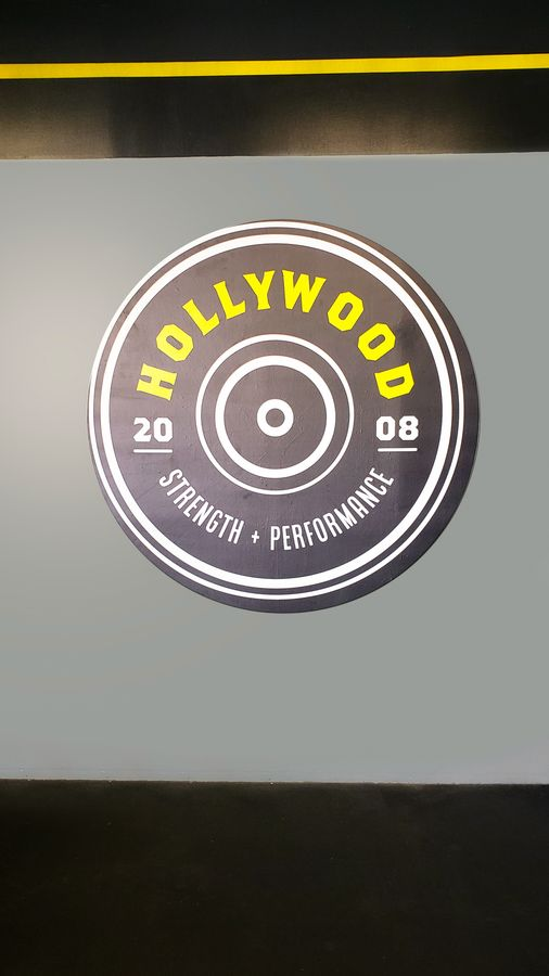 hollywood strength performance decal