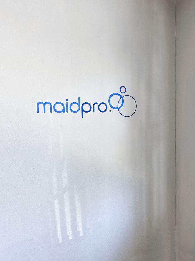 maidpro vinyl lettering