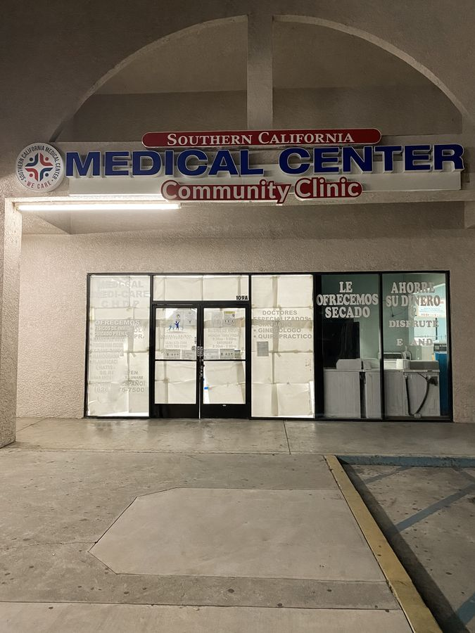 medical center channel letters