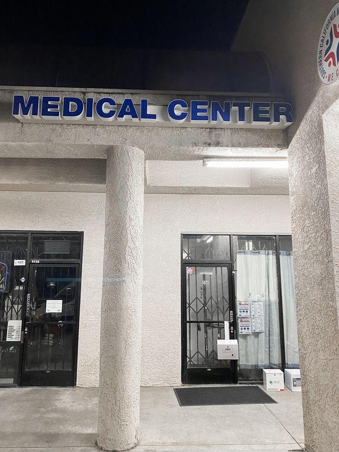 medical center raceway letters