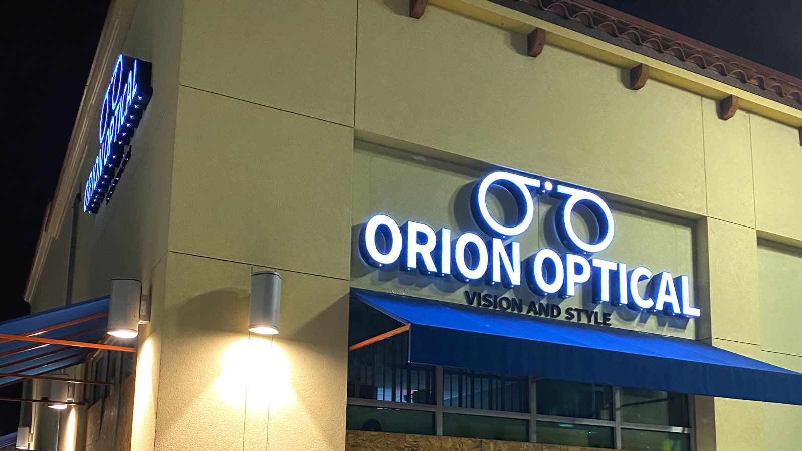 orion optical channel letters