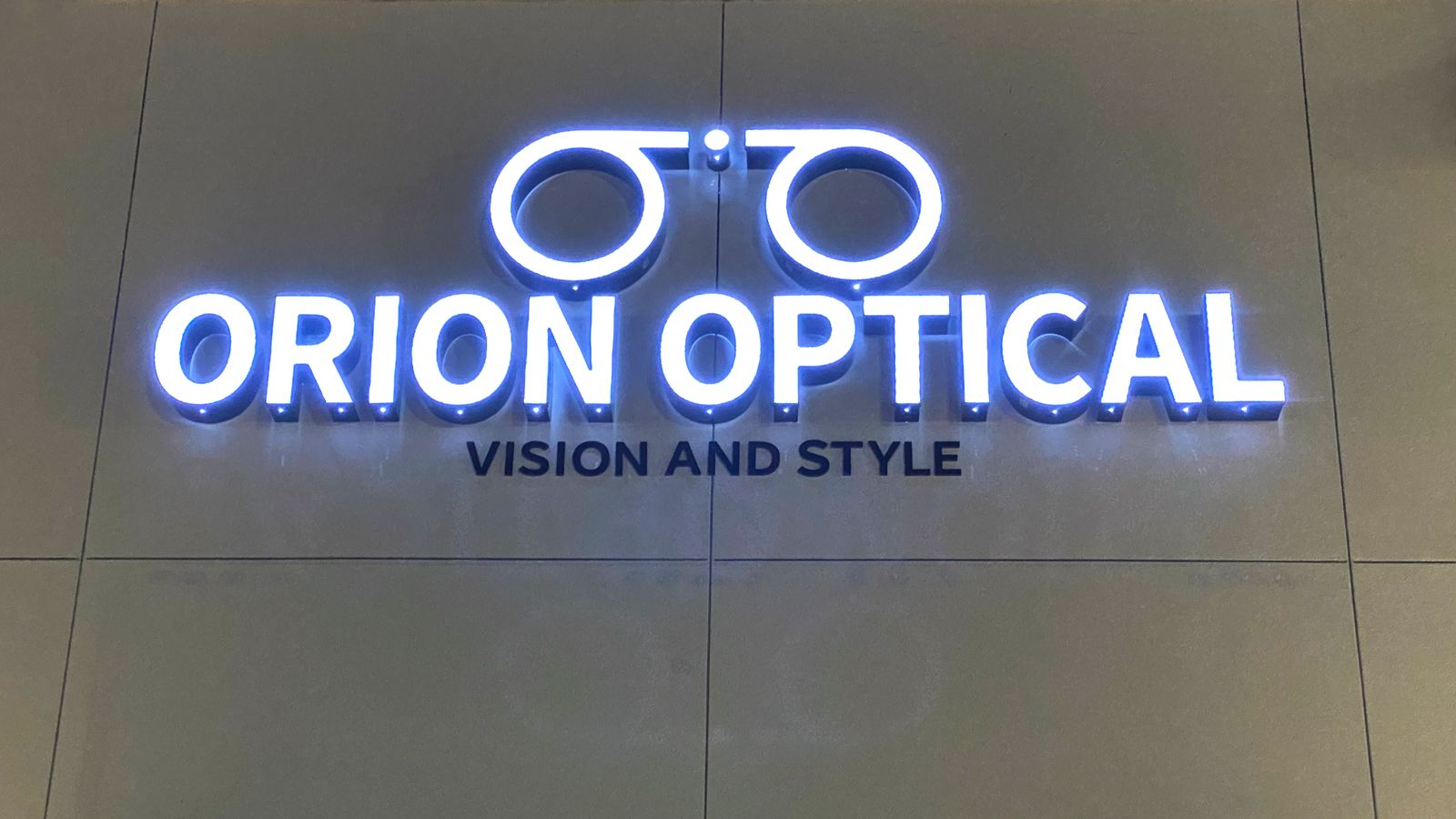 orion optical led signs