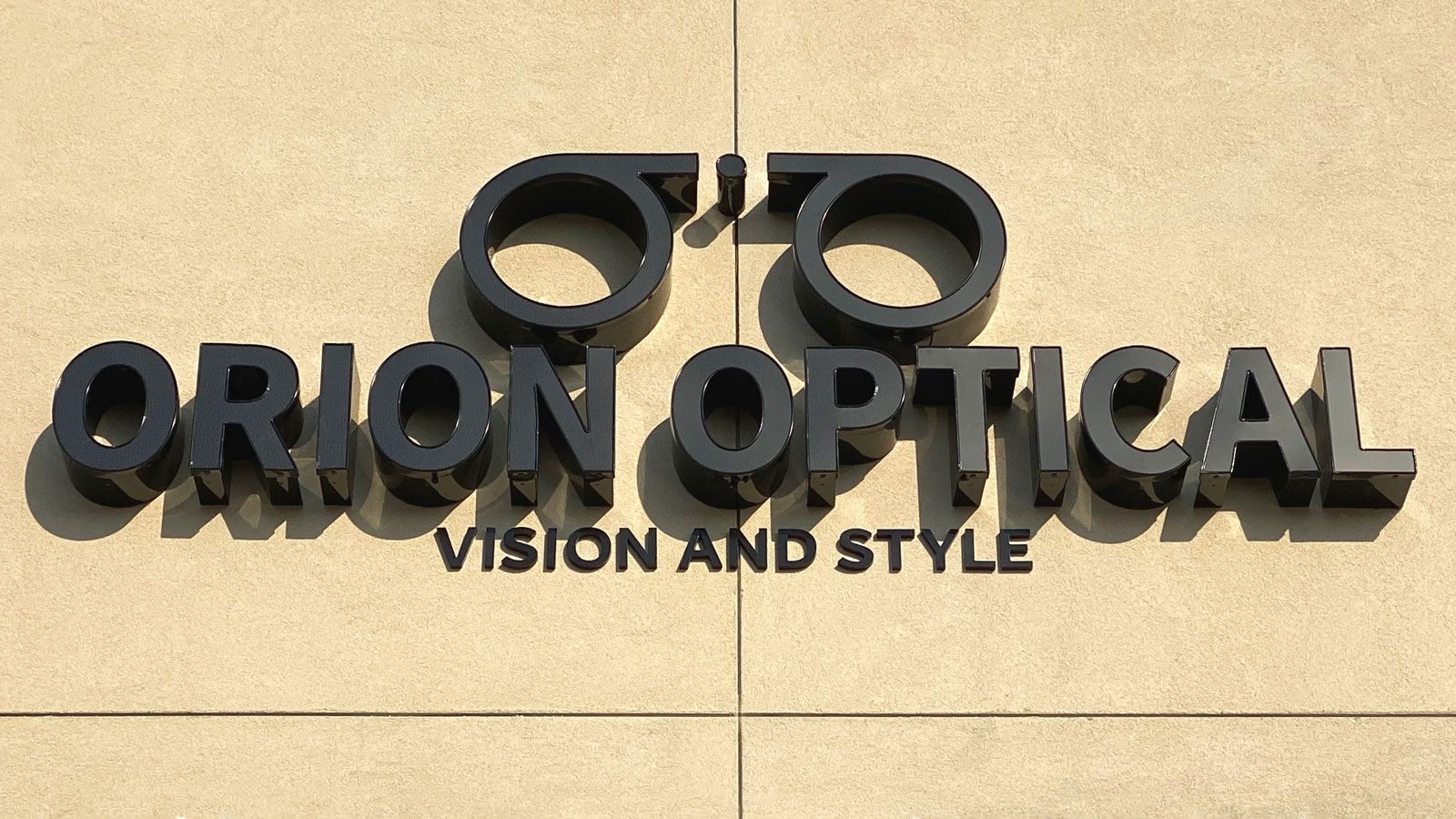 orion optical lighted letters