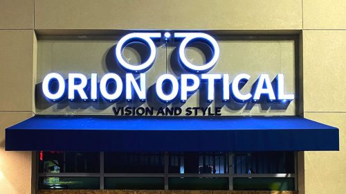 orion optical lighted signs