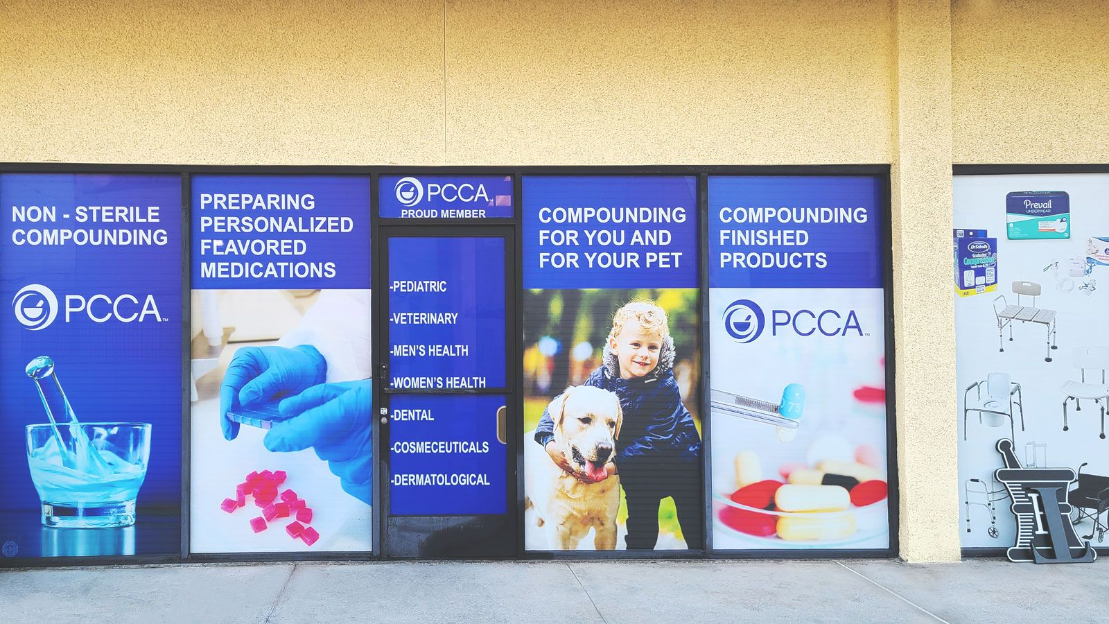 pcca window decals