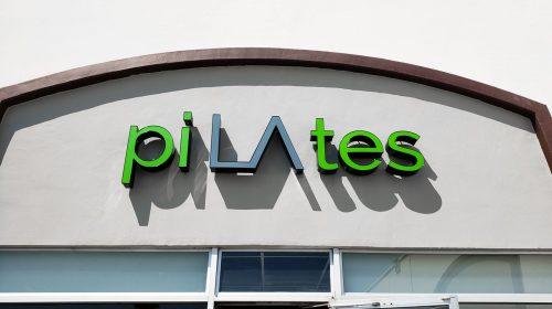 pilates channel letters
