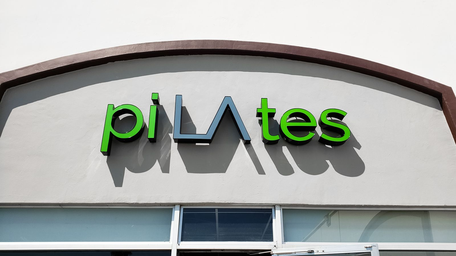 pilates channel letters