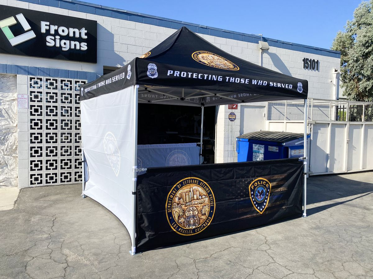 police canopy tent