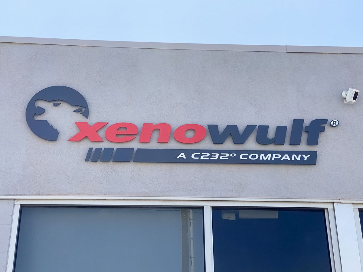 xenowulf 3d letters