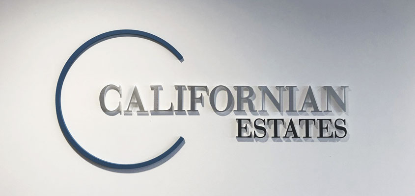 Attractive real estate sign design ideas from Californian Estates