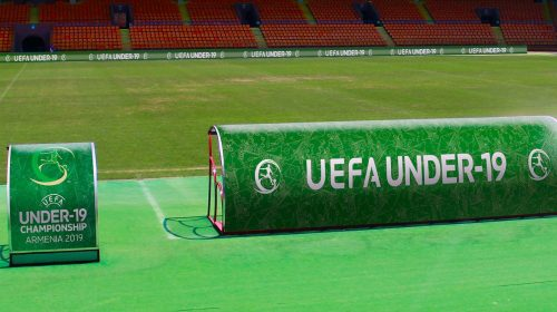 Uefa bench canopy banners