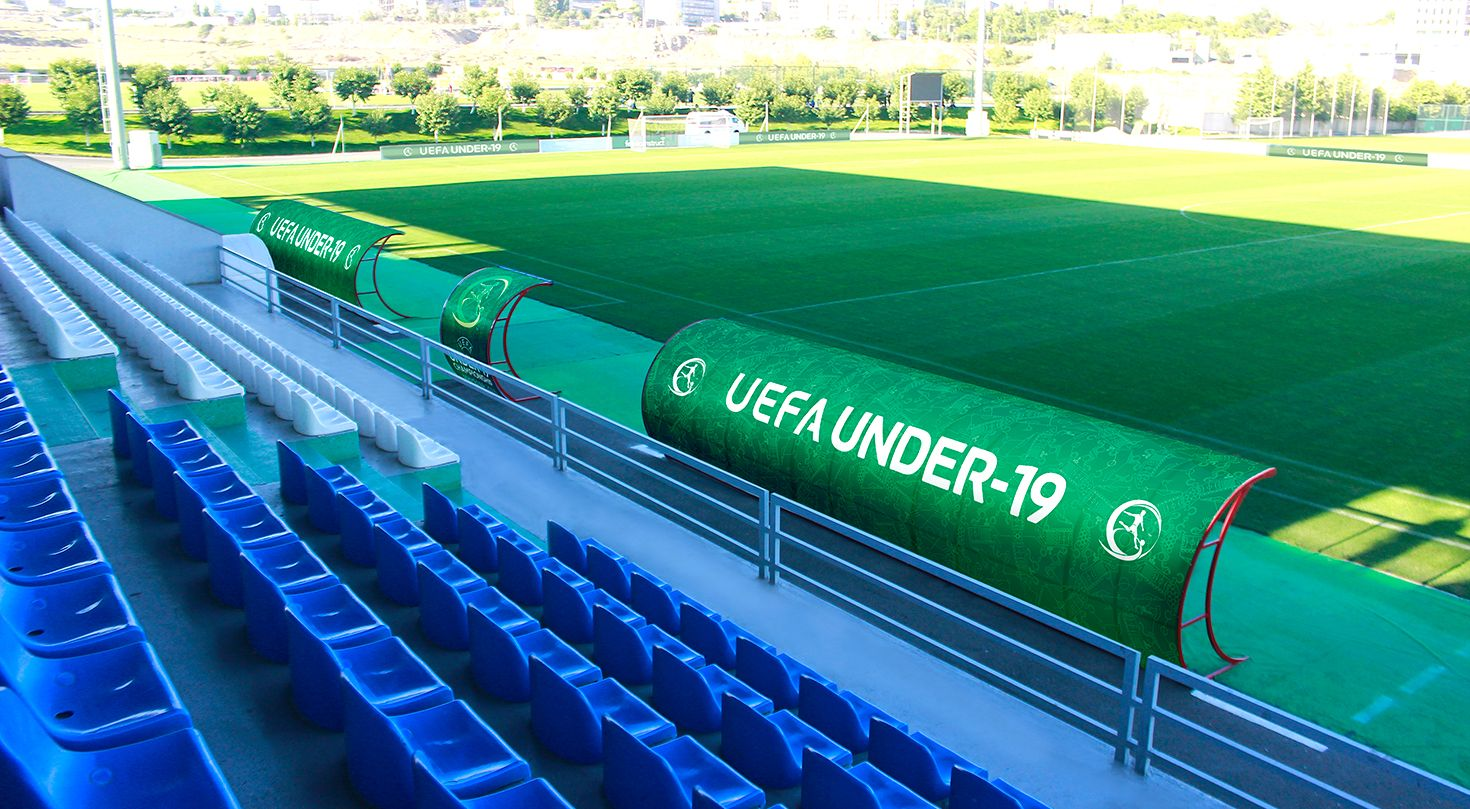 Uefa canopy vinyl banners