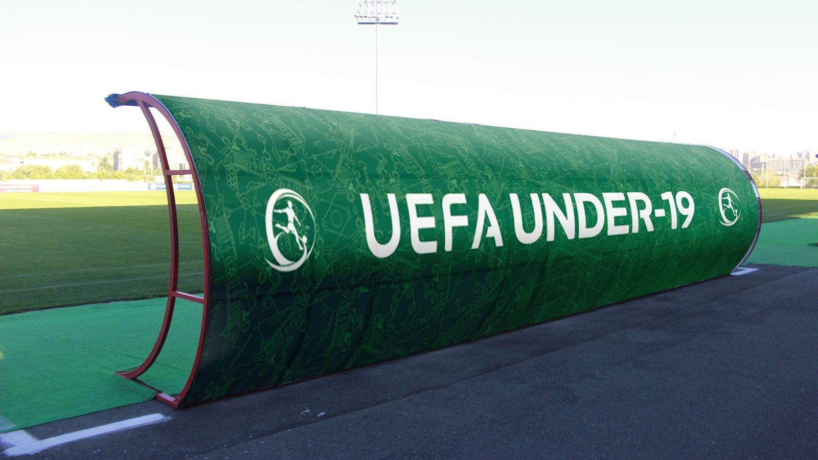 Uefa soccer canopy banner