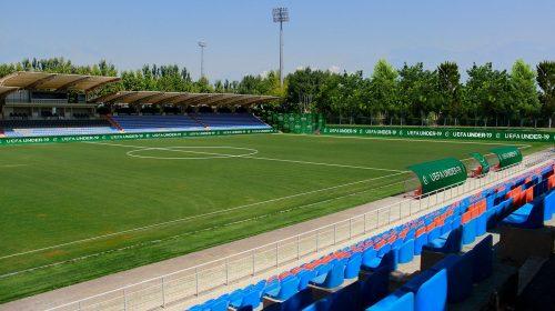 Uefa soccer stadium branding