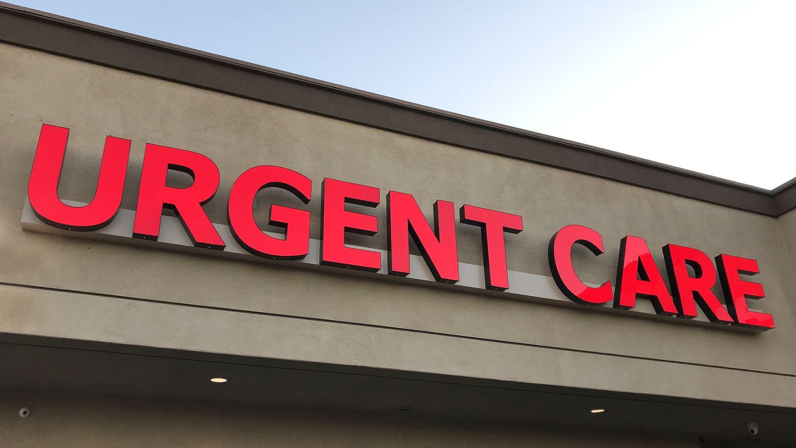 Urgent Care 3D letters