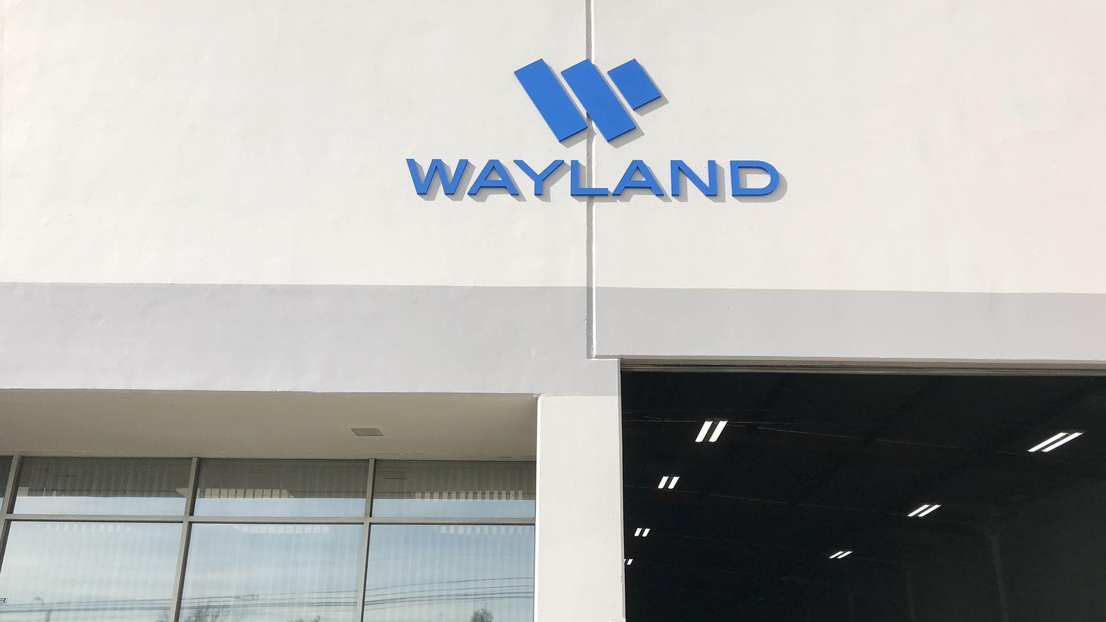 Wayland 3D sign