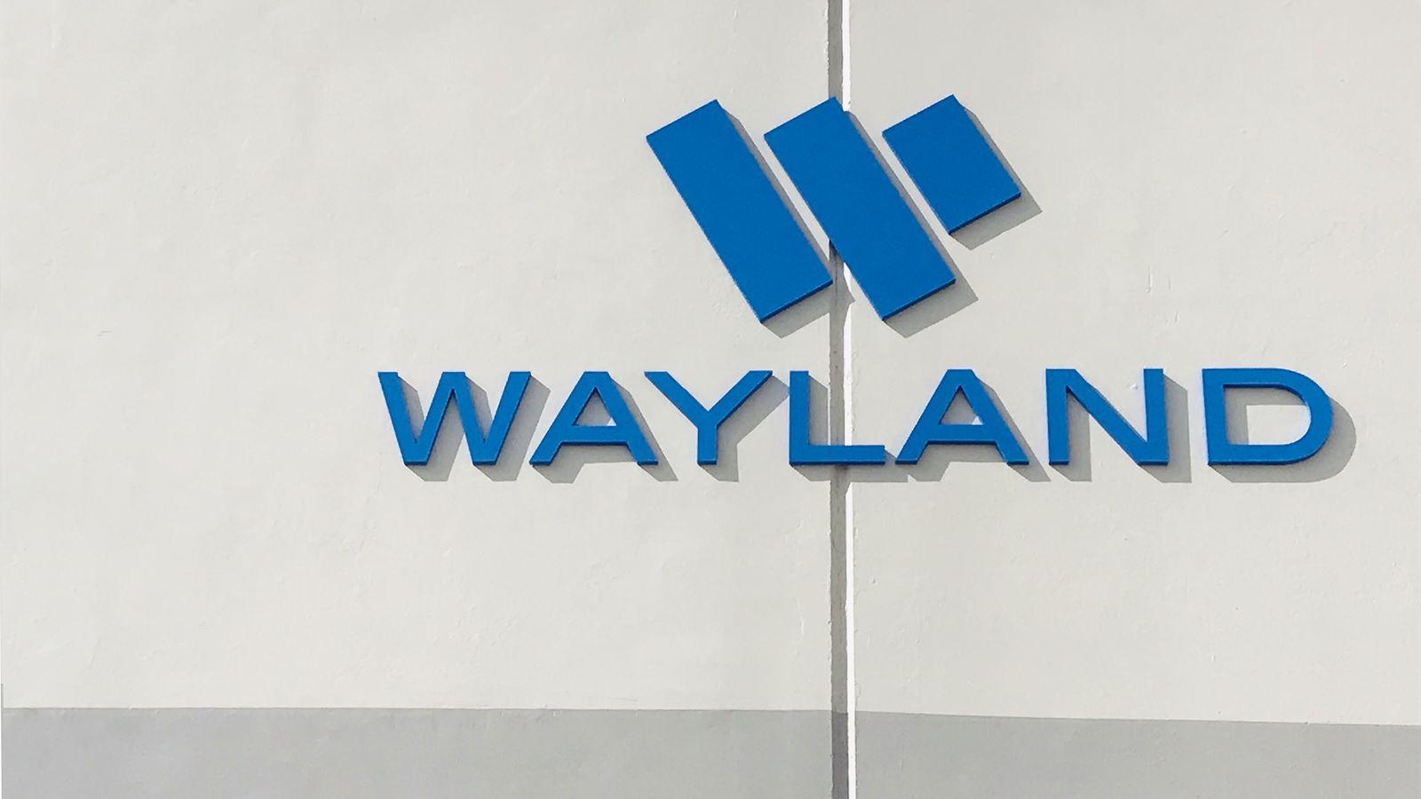 Wayland outdoor sign