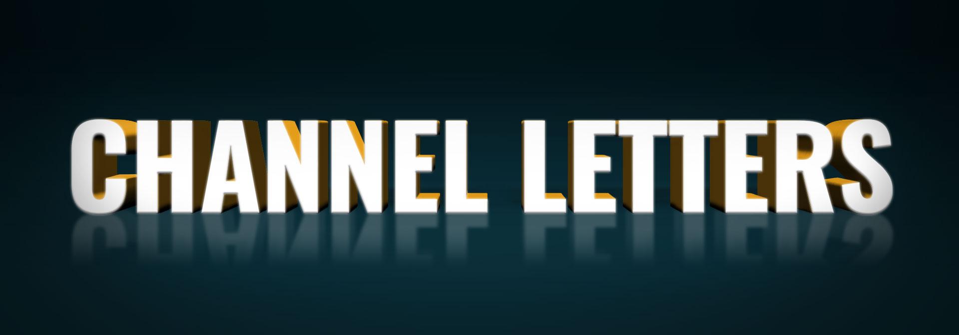 channel letters definition