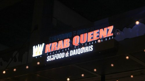 krab queenz channel letters