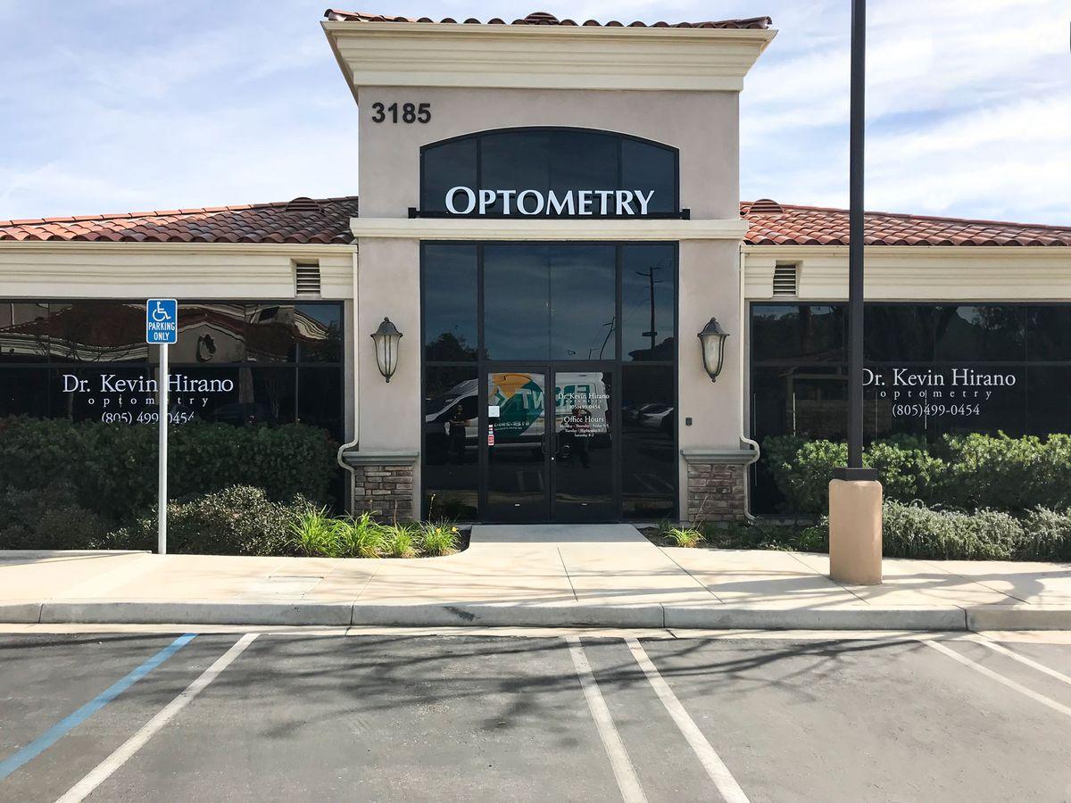 optometry opaque vinyl lettering