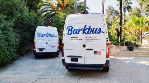Barkbus trucks branding decals