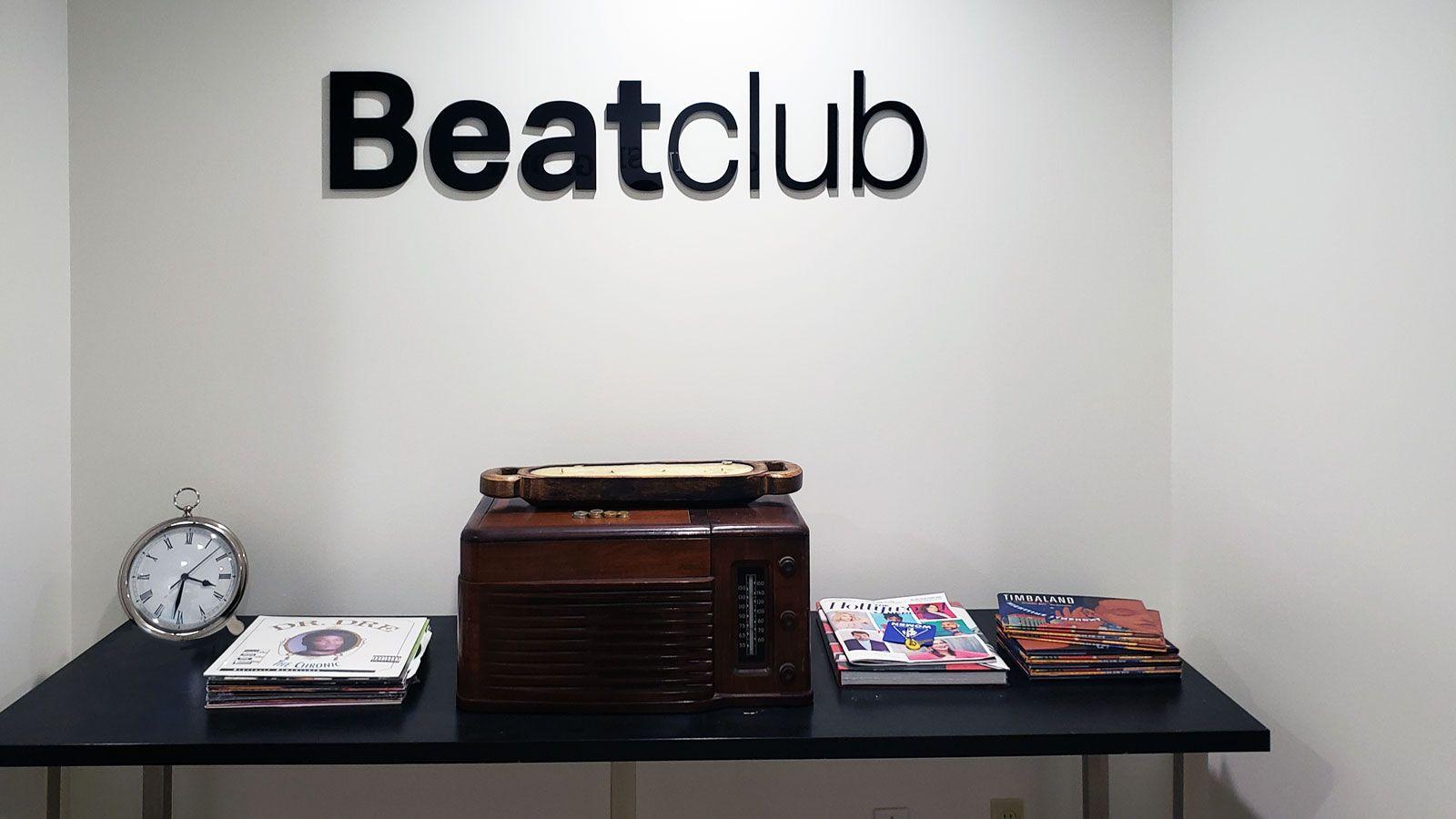 Beatclub 3d letters