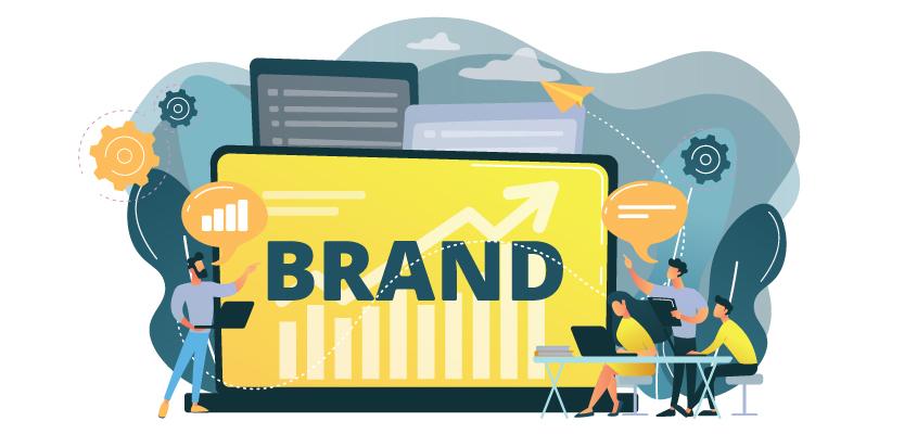 Image about creative branding illustration