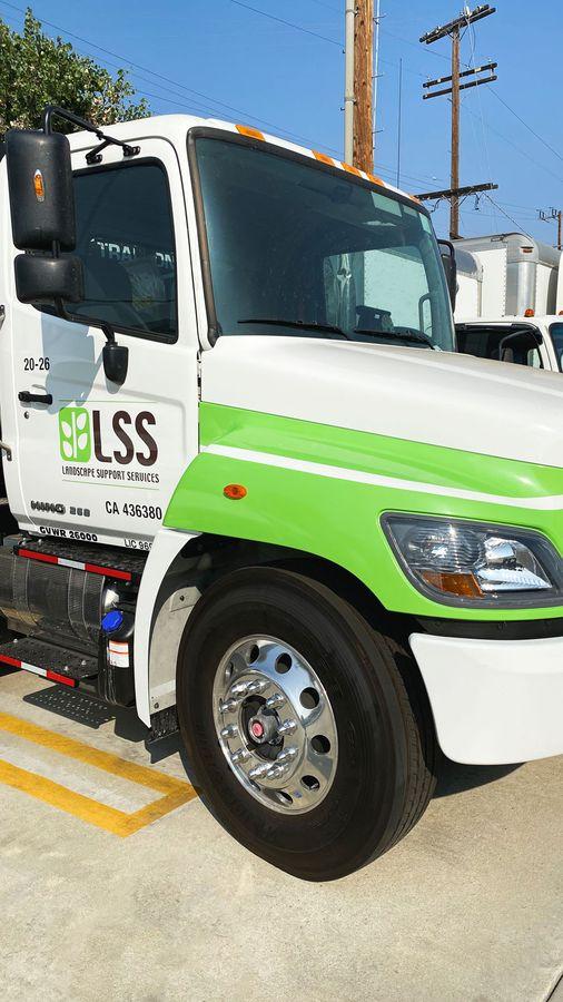 LSS truck decals