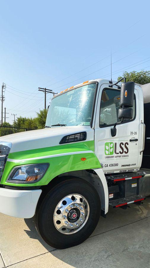 LSS truck wrap