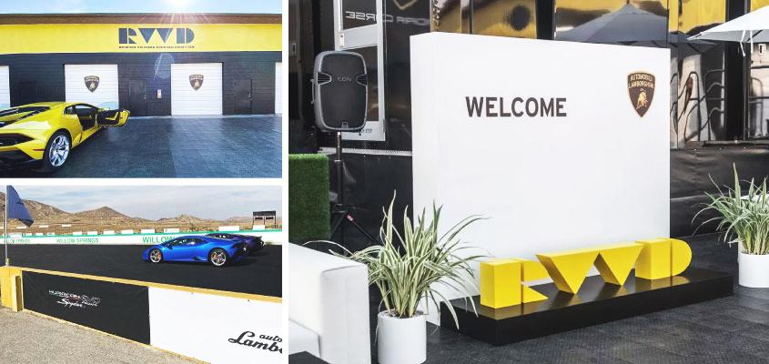 Lamborghini creative corporate identity design