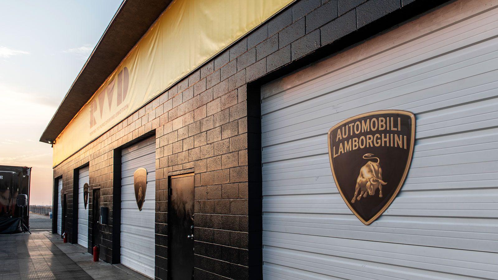 Lamborghini aluminum signs