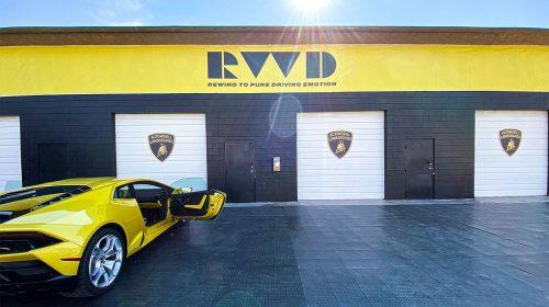Lamborghini event branding