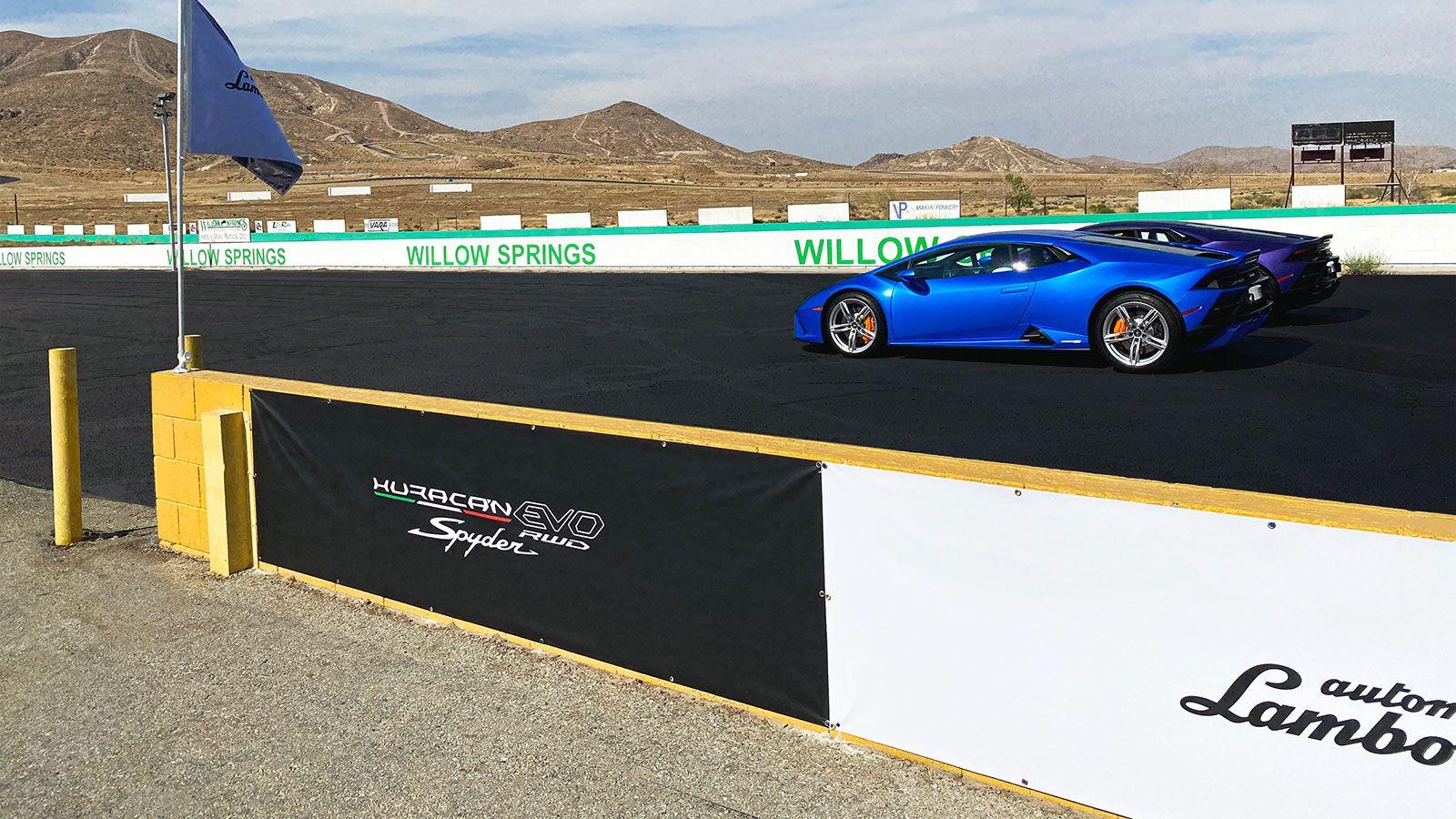 Lamborghini vinyl banners
