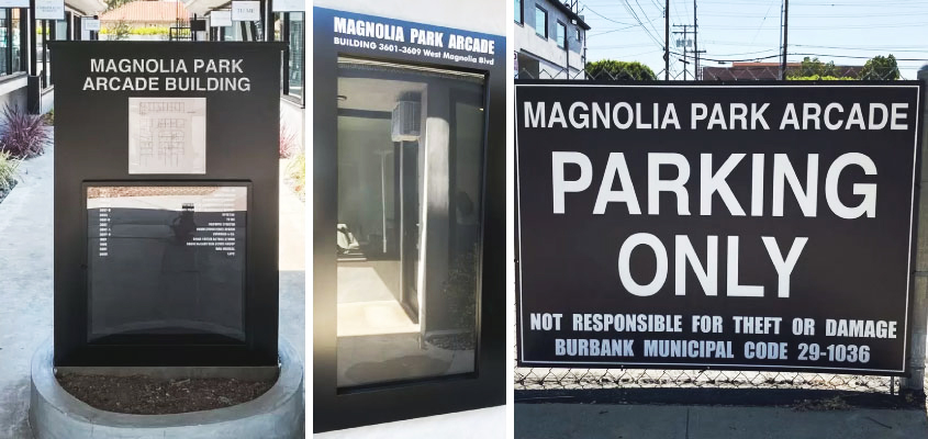 Image Showing Magnolia-Park Creative Corporate Identity Design