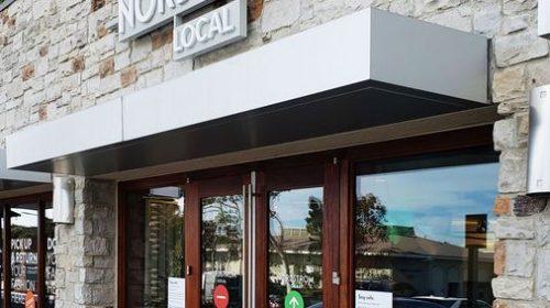 Nordstrom storefront 3d letters